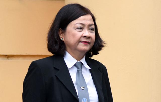 Luật sư Trương Thị Minh Thơ không đồng tình với quan điểm của VKS về việc cho rằng vụ án không vi phạm tố tụng.