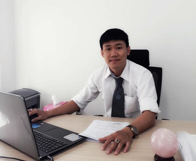 Luật sư Phan Mạnh Thăng.