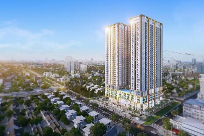Phối cảnh dự án Marina Tower của Phu Dong Group.