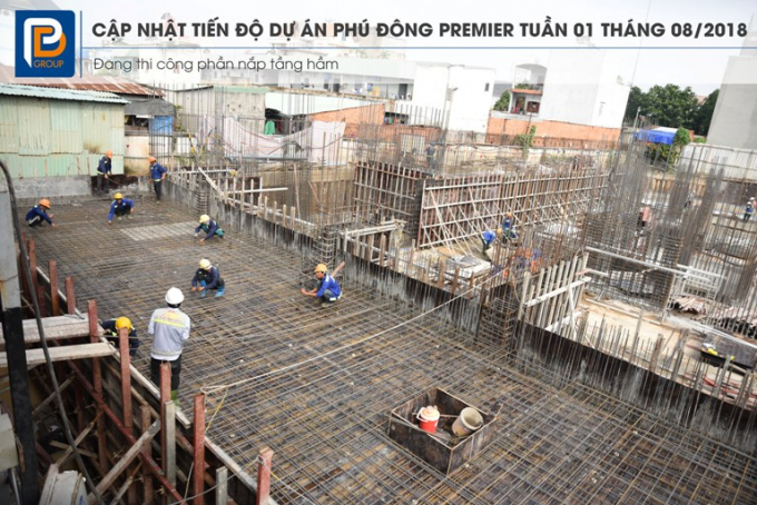 Dự án Marina Tower đang trong giai đoạn thi công.