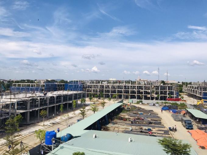 Dự án Barya Citi đang xây dựng như một đại công trường.