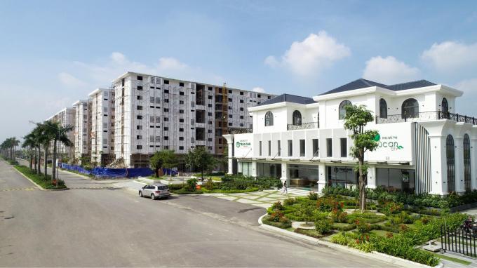 Dự án khu nhà ở giá rẻ sắp được bàn giao tới khách hàng nhằm đáp ứng nhu cầu có nhà đón Tết.