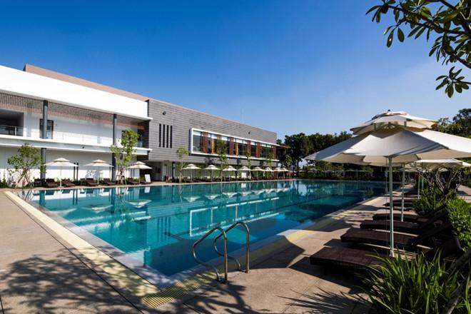 Khu phức hợp thể thao và nghỉ dưỡng Celadon Sports & Resorts Clubs được xây dựng ngay trong khuôn viên Celedon City của Gamuda Land.