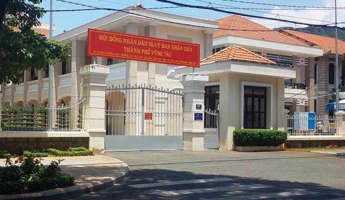 Trụ sở HĐND và UBND TP Vũng Tàu.