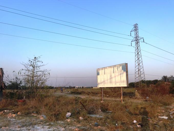 Khu đất dự án của Công ty Thiên Phú có nhiều khuất tất khi đấu giá.