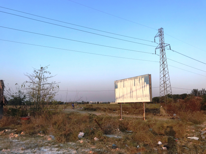 Khu đất thực hiện dự án KDC Hòa Lân.