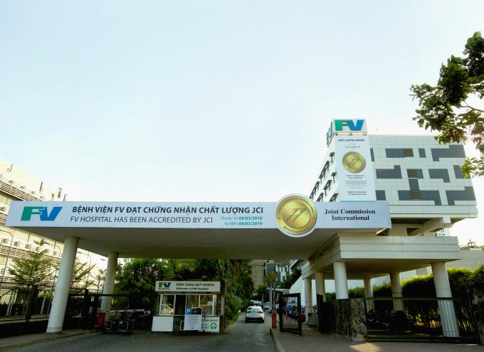 Bệnh viện FV tại TP HCM.