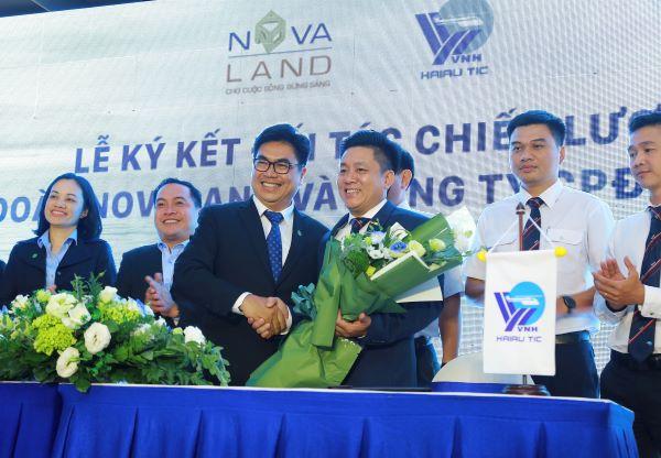 Novaland ký kết hợp tác chiến lược với Công ty Hải Âu