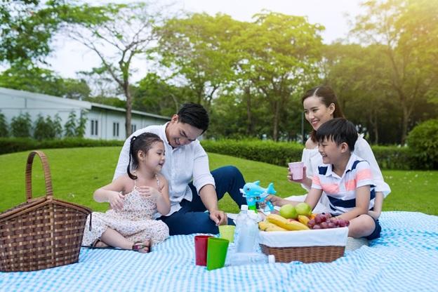 Các gia đình tại Celadon City luôn có một không gian cho con trẻ chơi đùa và cho mình không gian xua đi căng thẳng, lo âu trong công việc