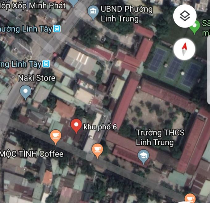 Khu đất được các đối tượng rao bán thuộc tổ 5, khu phố 6, phường Linh Trung, Thủ Đức