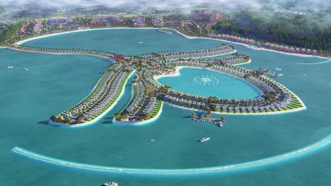 Dự án Ocean Lotus Island (Phú Quốc) do TTC Land phát triển sẽ sử dụng vật liệu xây dựng từ nhựa tái chế do liên doanh Công ty Upp! UpCycling Plastic & Công ty CP Toàn Hải Vân sản xuất.