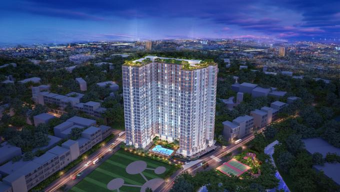 Dự án căn hộ Carillon 7 do TTC Land làm chủ đầu tư.