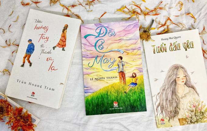 Bộ 3 tác phẩm đầy chất lãng mạn về tình yêu, về tuổi học trò.