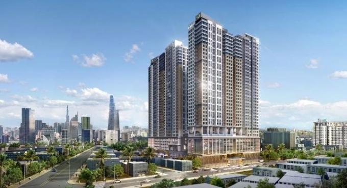 Tổ hợp căn hộ hạng sang The Grand Manhattan (quận 1, TP HCM).