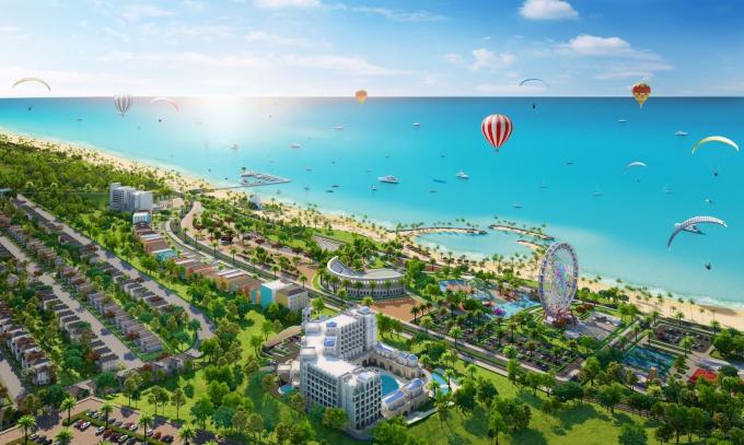 Đại đô thị du lịch nghỉ dưỡng giải trí NovaWorld Phan Thiet.