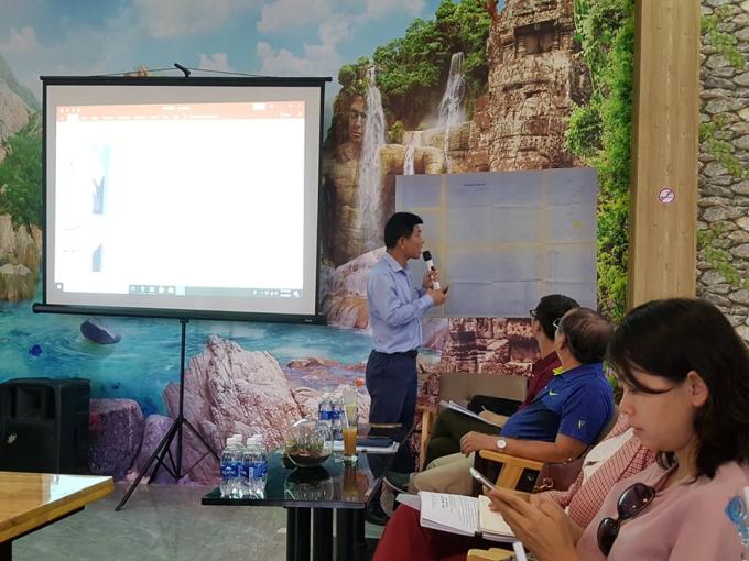 Ông Lê Hữu Nghĩa tại buổi tiếp xúc trao đổi với báo chí tiếp tục khẳng định, toàn bộ phần đất trên là của ông.
