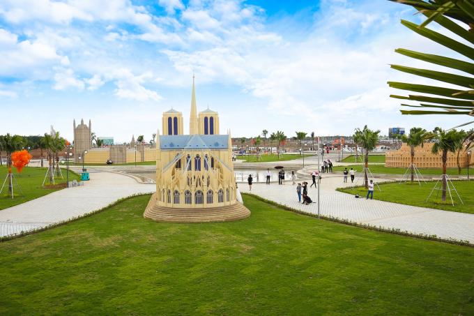 Diện mạo công viên Thế giới di sản kiến trúc The Destina.
