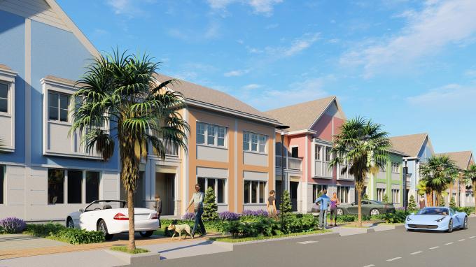 Second home kiến trúc Mỹ tại NovaWorld Phan Thiet là sản phẩm tiềm năng cho nhà đầu tư.