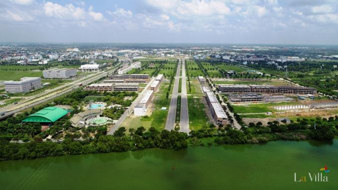 Lavilla Green City Tân An do Trần Anh Group và Đồng Tâm Group hợp tác phát triển.