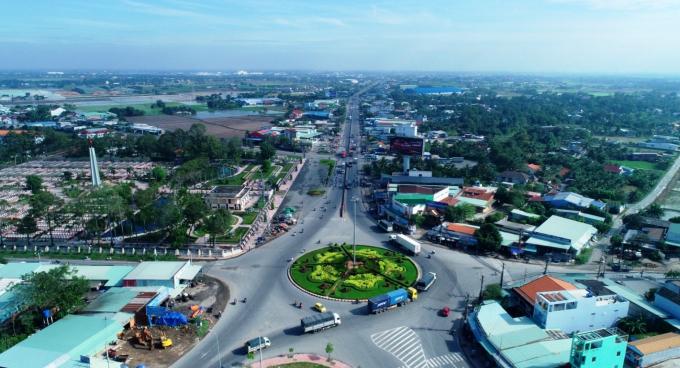 Hạ tầng đồng bộ, giao thông thuận lợi, kết nối vùng là những yếu tố thuận lợi để BĐS Tân An phát triển.