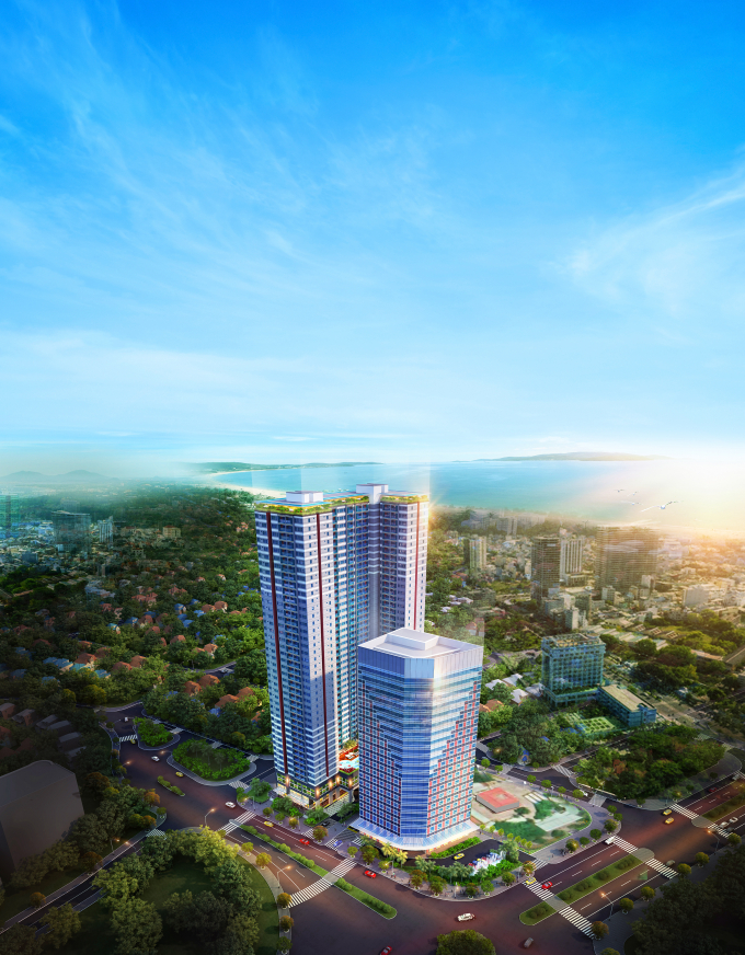 Phối cảnh dự án Grand Center Quy Nhon.