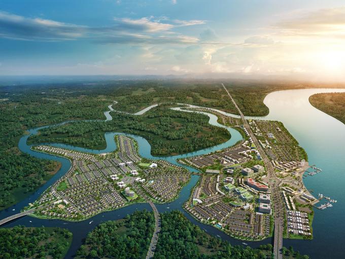 Trong khuôn khổ chương trình bình chọn, dự án đô thị sinh thái thông minh Aqua City của Novaland có quy mô hơn 600 ha tại phía Nam TP Biên Hòa (Đồng Nai) được chọn là dự án BĐS đô thị tiêu biểu.