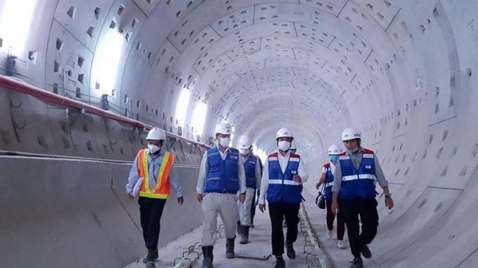 Tuyến Metro số 1 sẽ khánh thành vào quý 4 năm 2021.