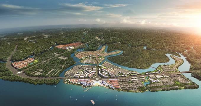 Đô thị sinh thái thông minh Aqua City với quy mô gần 1.000ha cùng chuỗi tiện ích đẳng cấp, hoàn chỉnh.