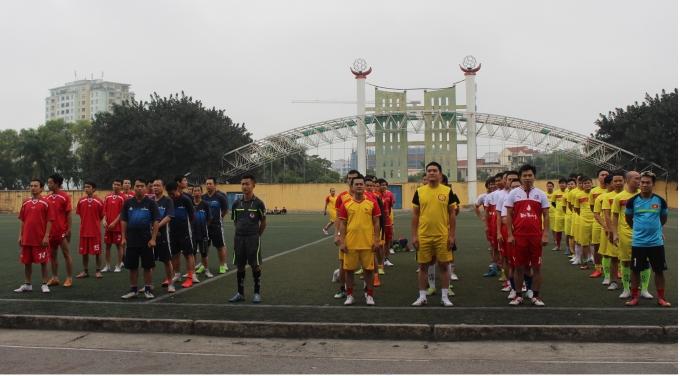 Giải đấu có sự tham gia của 6 đội đến từ các cơ quan báo chí đang hoạt động tại Hà Nội.