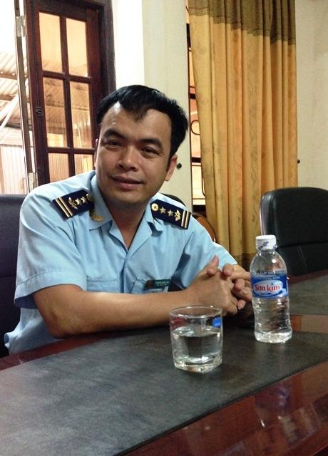 Ông Nguyễn Hồng Lĩnh -Chi cục trưởng chi cục Hải quan cửa khẩu quốc tế Cầu Treo: