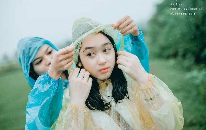 Huyền Trang và Hoài Thương là đôi bạn thân nhau từ bé.