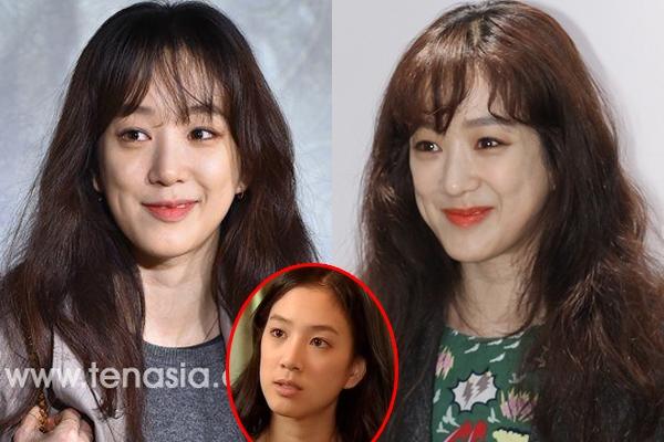 Khuôn mặt nhăn nhúm của Jung Ryeo Won cũng được cho là hậu quả của việc lạm dụng phẫu thuật thẩm mỹ.