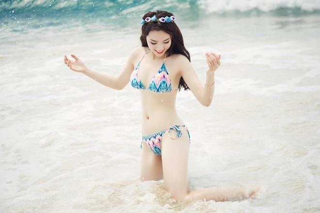 Hoa hậu 20 tuổi cho biết cô vẫn chưa sẵn sàng với tình yêu dù đã có những rung động
