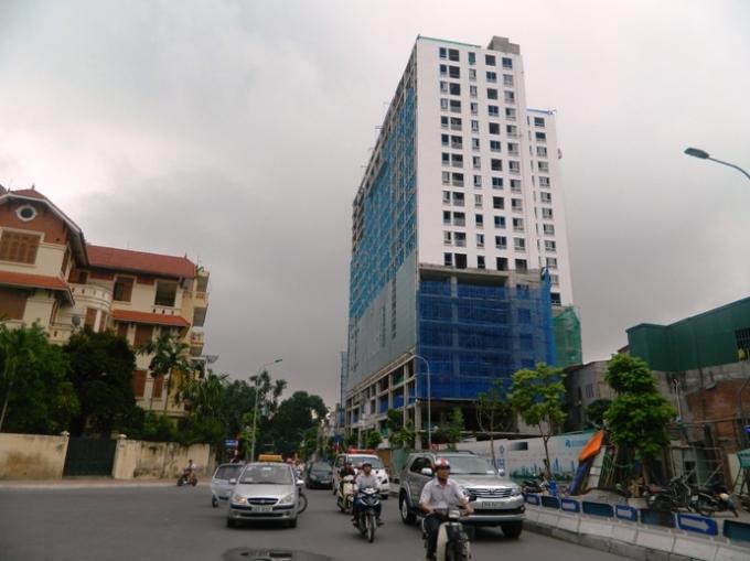 Dự án 8B Lê Trực (Ba Đình, Hà Nội).