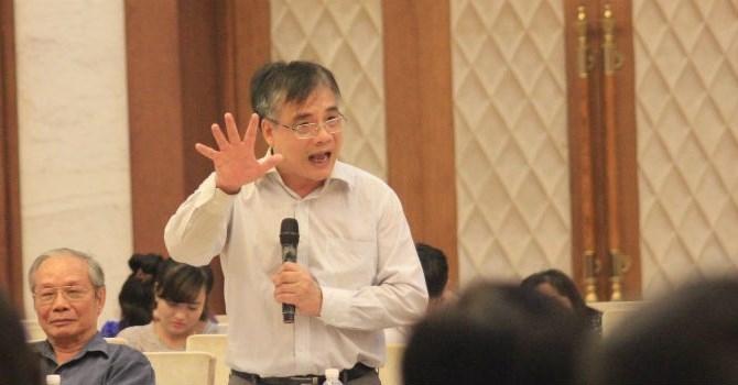PGS.TS Trần Đình Thiên, Viện trưởng Viện Kinh tế Việt Nam. Ảnh: BizLIVE