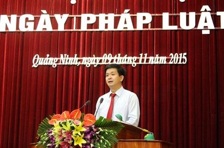 Ông Lê Quang Tùng, Phó Chủ tịch UBND tỉnh Quảng Ninh.