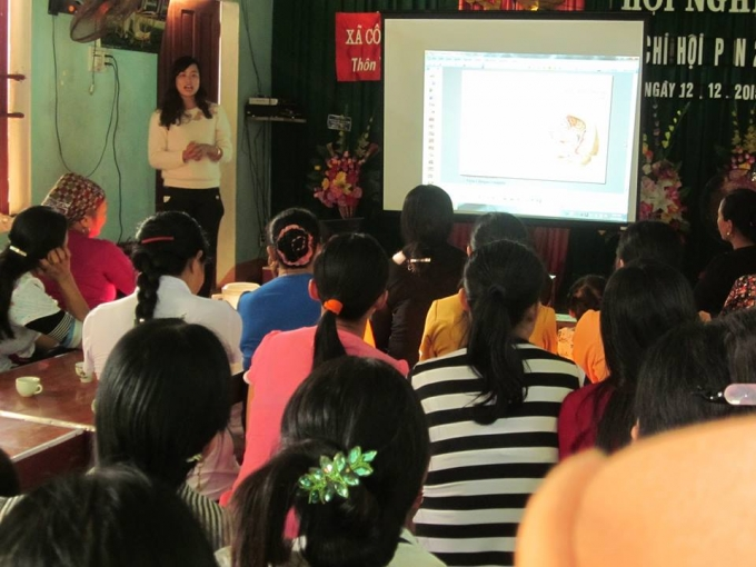 Công ty dược Trường An tự tổ chức hội thảo tại thôn Yên Nẫm 1, xã Công Bình (Nông Cống), Thanh Hóa.