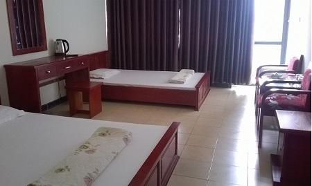 Ký túc xá của các học viên biến thành phòng nghỉ, khách sạn. (Ảnh Duy Ngợi)