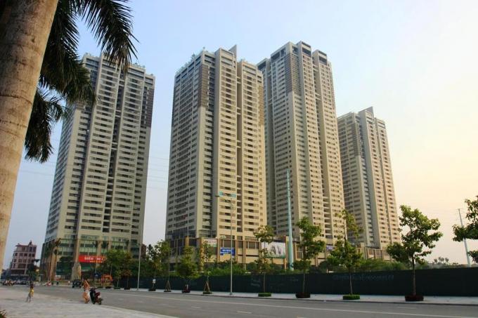Tại dự ánHP Landmark Tower, 750 căn hộ sẽ được nhận bàn giao trước Tết Bính Thân.