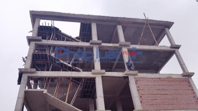 Được biết, khu nhà B dự án Trường tiểu học Thăng Long số 1 được khởi công xây dựng từ tháng 10/2015.