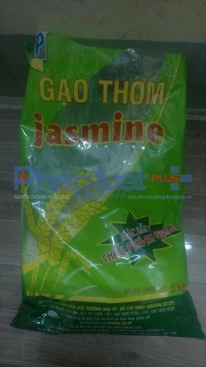 Bao gạo mà anh H. mua tạisiêu thị Co-opMart Quảng Bình.