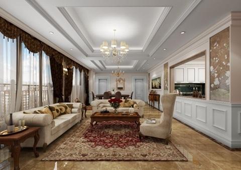 Tất cả các các căn hộ D'. Palais de Louis đều có tầm nhìn đẹp, thoáng đãng, phù hợp với mọi phong cách thiết kế nội thất từ cổ điển Hoàng gia đến Hiện đại tiện nghi.