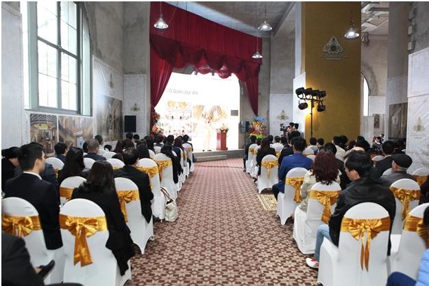 Rất đông khách mời tới chiêm ngưỡng dự án xa xỉ nhất Thủ đô.
