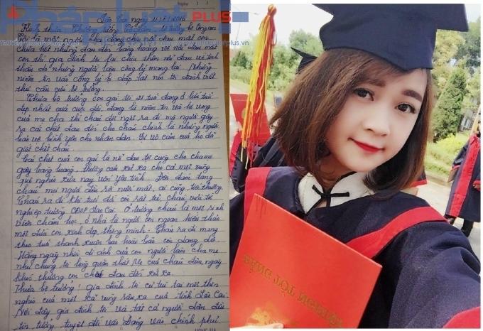 Cô gái trẻ ra trường chưa được bao lâu thì đã ra đi mãi mãi.