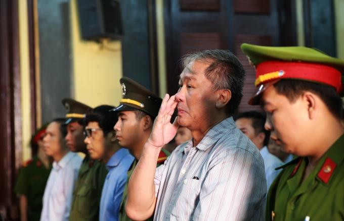 Phạm Công Danh và đồng phạm - Ảnh tuoitre.vn