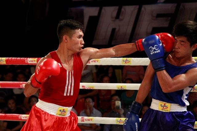 Những trận đấu boxing luôn diễn ra khá quyết liệt và kịch tính