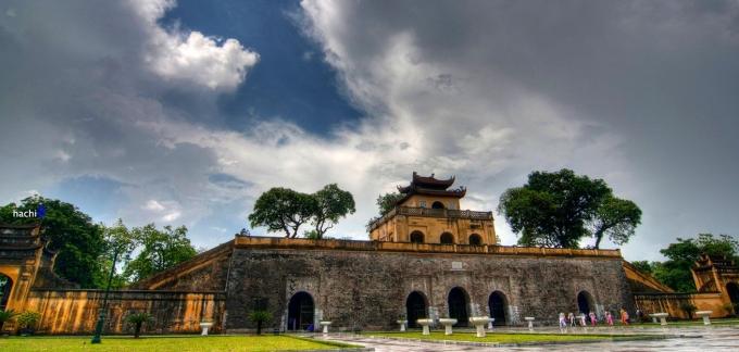 Khu di tích Hoàng Thành Thăng Long. Ảnh Internet.