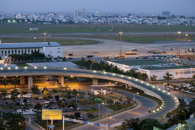 Cảng hàng không Đà Nẵng. Ảnh phongbanve.com
