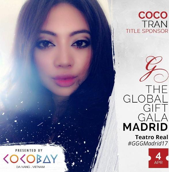 Nữ doanh nhân trẻ Việt Nam - Coco Trần - Phó TGĐ Tập đoàn Empire là khách mời danh dự tại sự kiện.