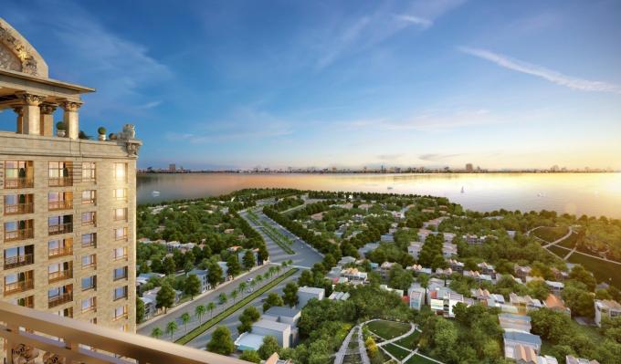 Hầu hết các căn hộ D'. Le Roi Soleil đều có tầm nhìn thoáng rộng về phía Hồ Tây khiến cho các căn hộ tại đây luôn ngập tràn nắng, gió.